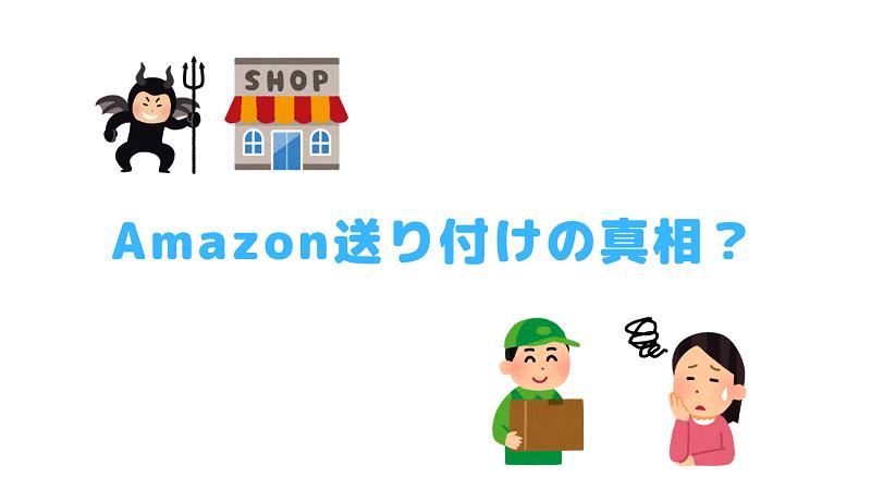Amazon送り付けの真相